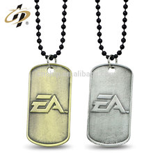 Shuanghua factory stamping 3D custom metal dog tags