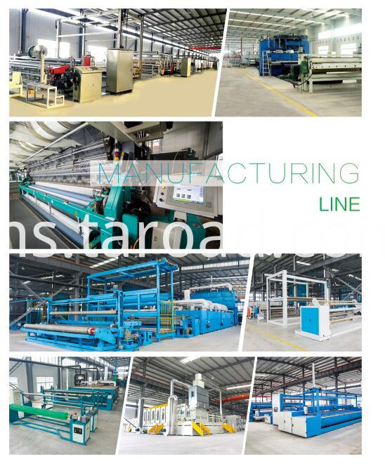 HDPE square net production line