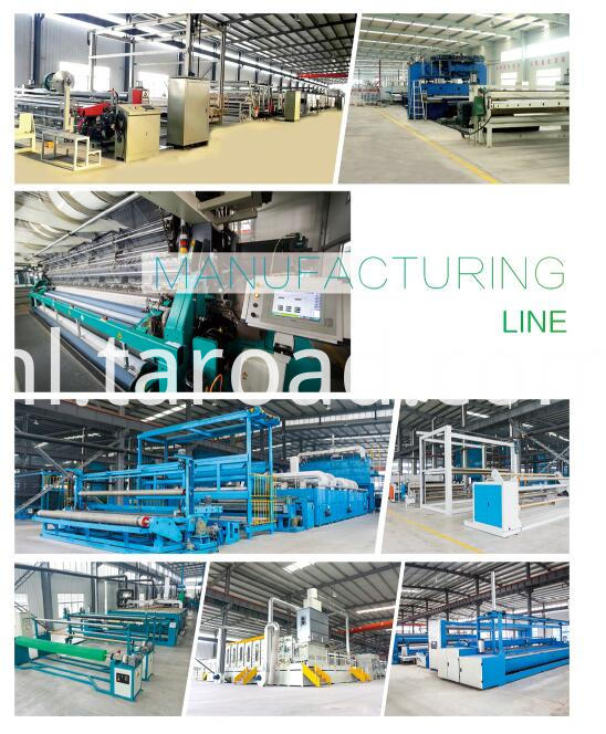 High-strength geonet production line