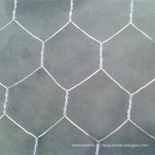 Sechseck-Drahtgeflecht-Netz mit heißem eingetauchtem galvanisiertem Draht