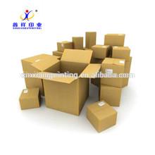 Bonnes boîtes de papier d'usine de sortie de carton ondulé de capacité de poids