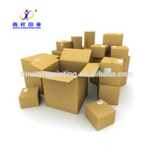 Caixas de papel da tomada de fábrica das caixas de papel ondulado de boa capacidade do peso