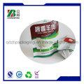 Aluminiumfolie Stand up Reißverschluss Tasche für Snack Food Packing