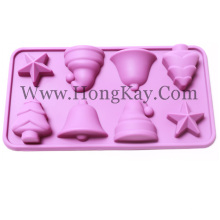 Christmas Series Silicone Mold Silicone Tools Chocolate Decoration