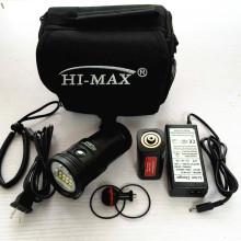 High Power 2 x UV9 Taschenlampe Typ 10000 Lumen Tauchen Led Taschenlampe