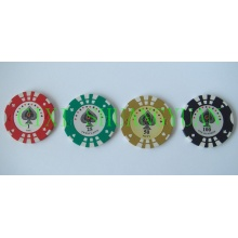 14G 2color Стикер Poker Chip (SY-E24)