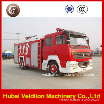 Steyr Fire Truck Wtih 6000L/6cbm/6m3 Water Tank and Fire Monitor
