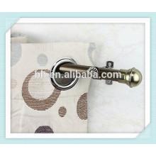 Home Décoration au nickel Nickel en laiton à rideau pour rideaux verticaux