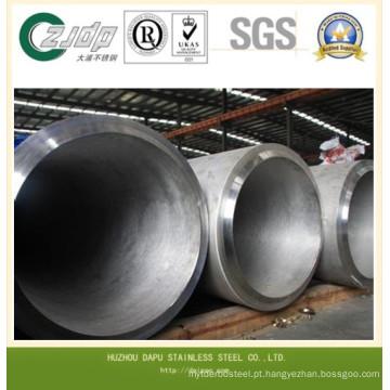 Super 304 duplex aço inoxidável tubo soldado