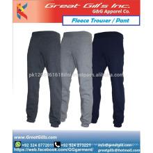 All colour fleece pants trouser sports wear jogger wholesale