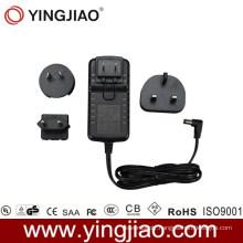 25W Power Adaptor and Changeable AC Plug