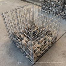 Hot Sale Galvanized Iron Wire Mesh Welded Gabion Basket For Flower Planter