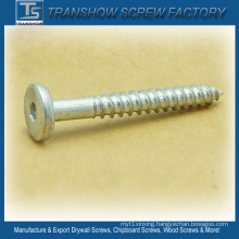 4.2*38mm Allen Drive Big Flat Head Furniture Screw