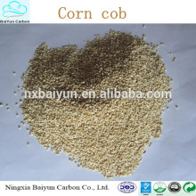 Factory price corn cob meal/corn cob animal feed additives different crushed corn cob granule