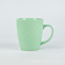 Klassische Keramikkaffee-Reisebecher des kundenspezifischen Entwurfs kampiert