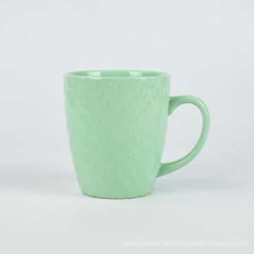 Taza de viaje de café de cerámica clásica de viaje de camping de diseño personalizado