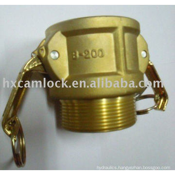 E type Brass Hose Coupling