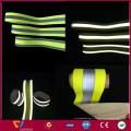 bande de sangle polyester fluorescente réfléchissante haute largeur 5cm