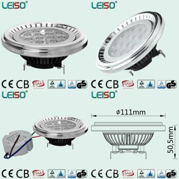 100W Halogen Replacement LED Spot Light AR111 Bulb 1100lm