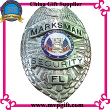 Messing / Kupfer Polizei Badge mit 3D Logo