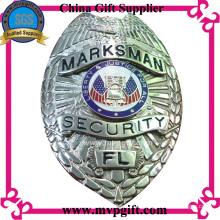 Медный полицейский знак с 3D логотипом