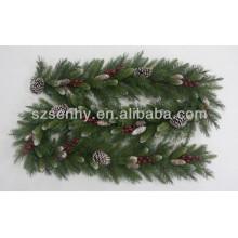 Cones de neve especiais Christmas Garland