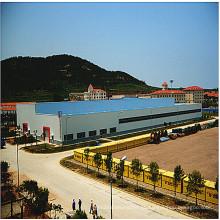 Projeto de construção de oficina de ereção de estrutura de aço