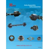 Axle Assembly and Accessories for Truck