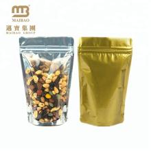 Дешевые закрывающийся прозрачный молния обычная стоящий мешок для еды с ziplock