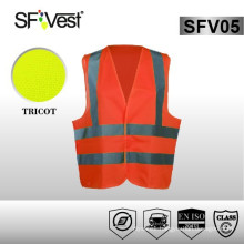security workwear reflectorized vest