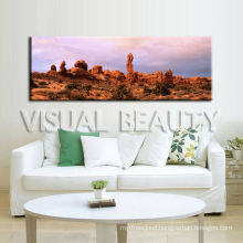 Rocks Crafted Wooden Hanging Wall Picture Canvas Print