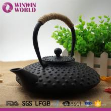 Potenciômetro esmaltado infusor do ferro fundido do chá de aço inoxidável do presente do Natal