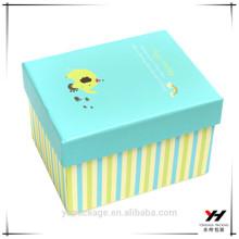 boîte de papier d'emballage en métal impression personnalisée