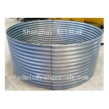 Allstar grão de aço máquina formadora de rolo de silo