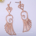 2018 most popular s925 sterling silver earrings rose gold stud earrings