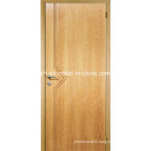 Home Elegant Water Resistant Melamine Skin Wooden Main Door Design