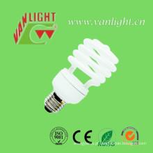 Meia espiral 23W-T2 CFL lâmpada, iluminação de poupança de energia