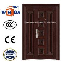 Nice Design 1200mm Size Steel Security Metal Door (W-SZ-01)
