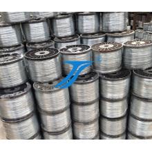 Alambre de bobina, hierro o metal Alambre de acero inoxidable en bobina o bobina