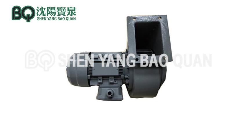 slewing motor fan