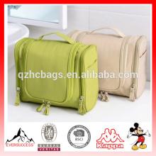 Горячей продажи путешествия comestic мешок висит организатор висит косметический мешок