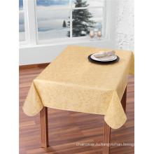 Горячие продажи пользовательские печатные пластиковый скатерть с нетканые/ткани Затыловка высокого качества по санитарному надзору за качеством