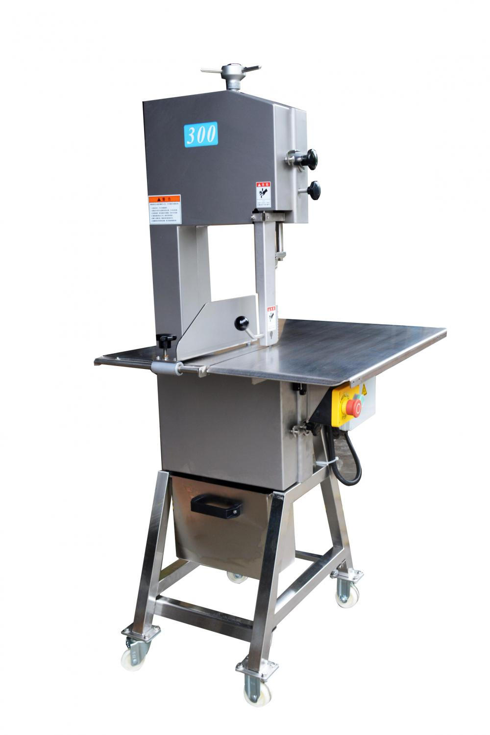 Meat cutter bone saw machine