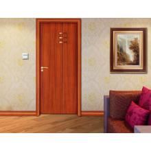 Diseño de estilo simple de PVC más fresco Diseños de puerta de dormitorio simple