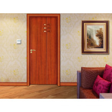 Cheapest PVC Fresh Style Design Simple Bedroom Door Designs