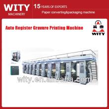 YAD-A2 Máquina de impressão automática de rotogravura de registro