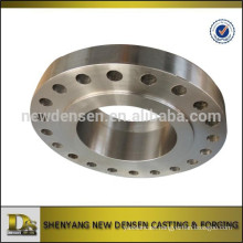 OEM pipe fittings parts forged flange Made in China