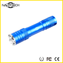 3 Modes Zoom Lampe de poche, 240 Lumens LED Torch, Zoom Flashlight (NK-1862)