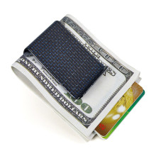 Gold Money Clip Wallet for Credit Card Holding