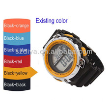 Popular Men Chronograph LCD Watch Sport Watch